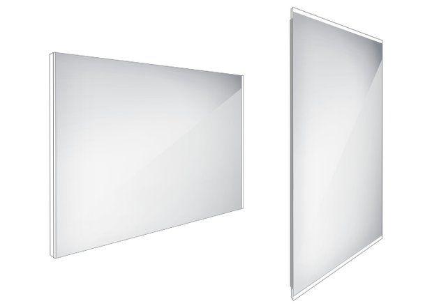 Koupelnové podsvícené LED zrcadlo 1000x700 - ZP 9004