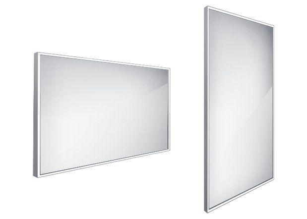 Koupelnové podsvícené LED zrcadlo 1200x700 - ZP 13006