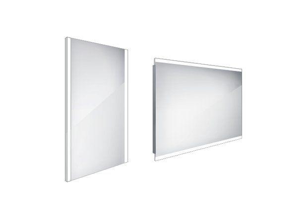 Koupelnové podsvícené LED zrcadlo 400x600 - ZP 11000