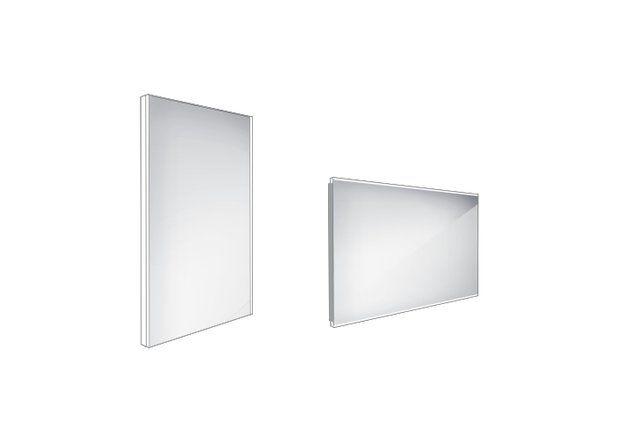 Koupelnové podsvícené LED zrcadlo 400x600 - ZP 9000