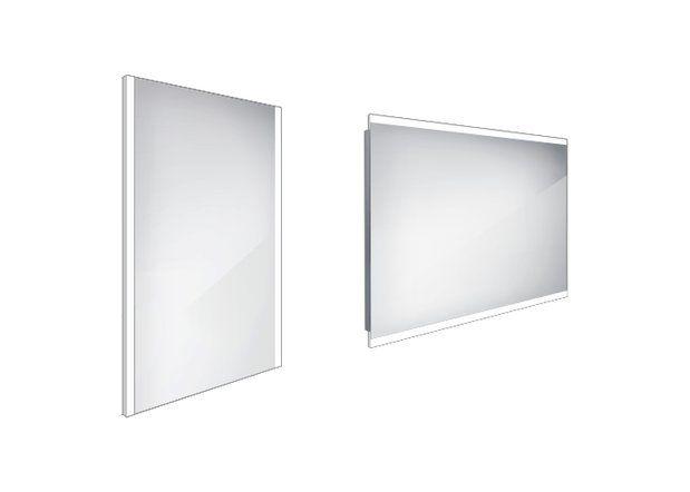 Koupelnové podsvícené LED zrcadlo 500x700 - ZP 11001