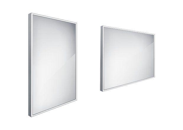 Koupelnové podsvícené LED zrcadlo 500x700 - ZP 13001