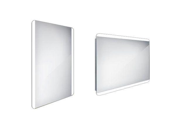 Koupelnové podsvícené LED zrcadlo 500x700 - ZP 17001