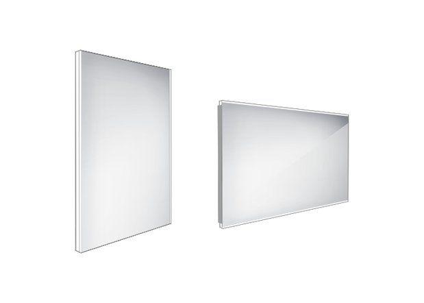 Koupelnové podsvícené LED zrcadlo 500x700 - ZP 9001
