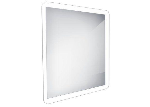 Koupelnové podsvícené LED zrcadlo 600x600 - ZP 19066