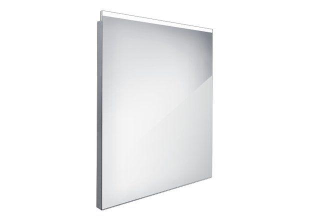 Koupelnové podsvícené LED zrcadlo 600x700 - ZP 8002