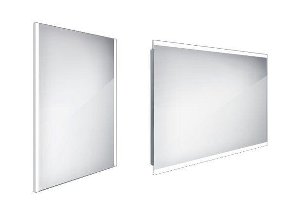 Koupelnové podsvícené LED zrcadlo 600x800 - ZP 11002