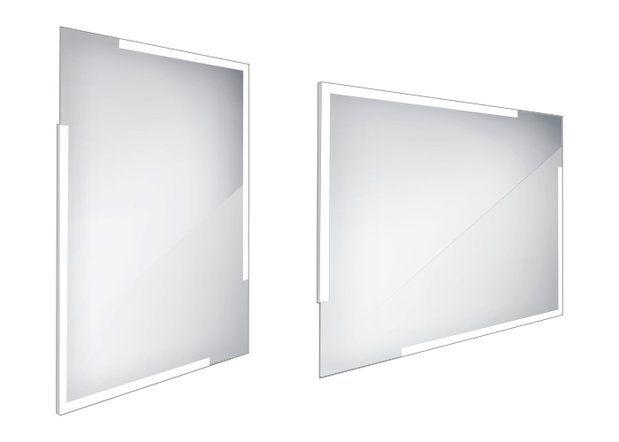 Koupelnové podsvícené LED zrcadlo 600x800 - ZP 14002
