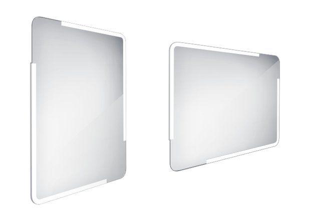 Koupelnové podsvícené LED zrcadlo 600x800 - ZP 15002