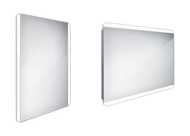 Koupelnové podsvícené LED zrcadlo 600x800 - ZP 17002