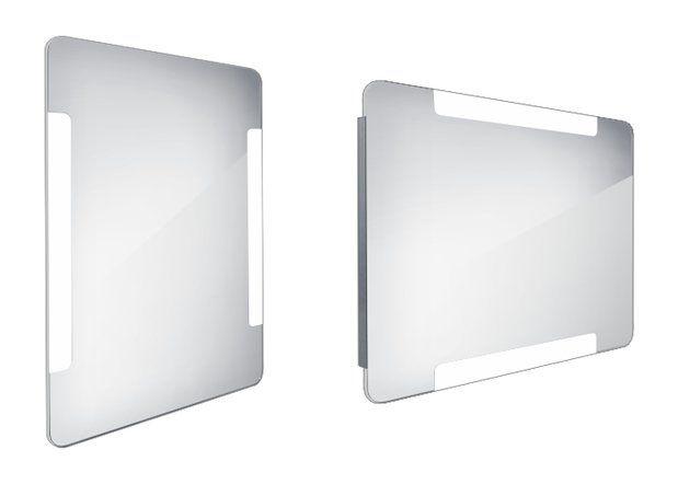 Koupelnové podsvícené LED zrcadlo 600x800 - ZP 18002