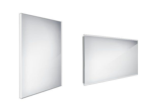 Koupelnové podsvícené LED zrcadlo 600x800 - ZP 9002
