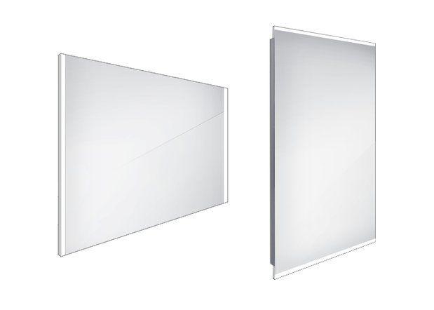 Koupelnové podsvícené LED zrcadlo 900x700 - ZP 11019