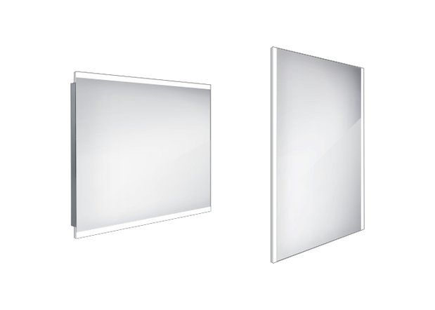 Koupelnové podsvícené LED zrcadlo 900x700 - ZP 12019