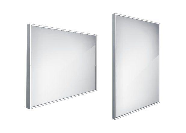 Koupelnové podsvícené LED zrcadlo 900x700 - ZP 13019