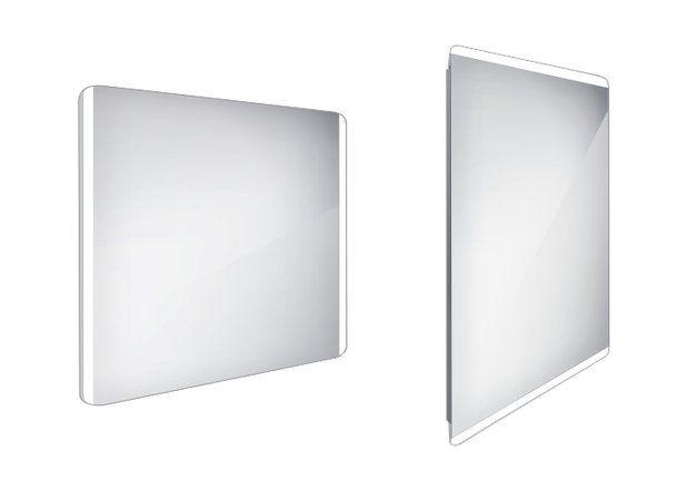 Koupelnové podsvícené LED zrcadlo 900x700 - ZP 17019