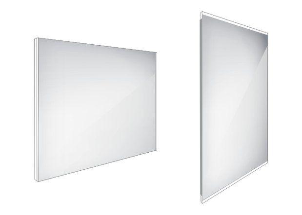 Koupelnové podsvícené LED zrcadlo 900x700 - ZP 9019