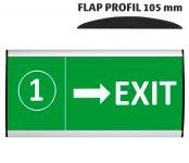Tabulka 105x250 - Flap Profil