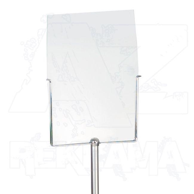 Akrylátová informační tabule A4 do držáku Stophold
