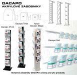 Elegantní Dacapo zásobník na prospekty formátu A4 A-Z Reklama CZ