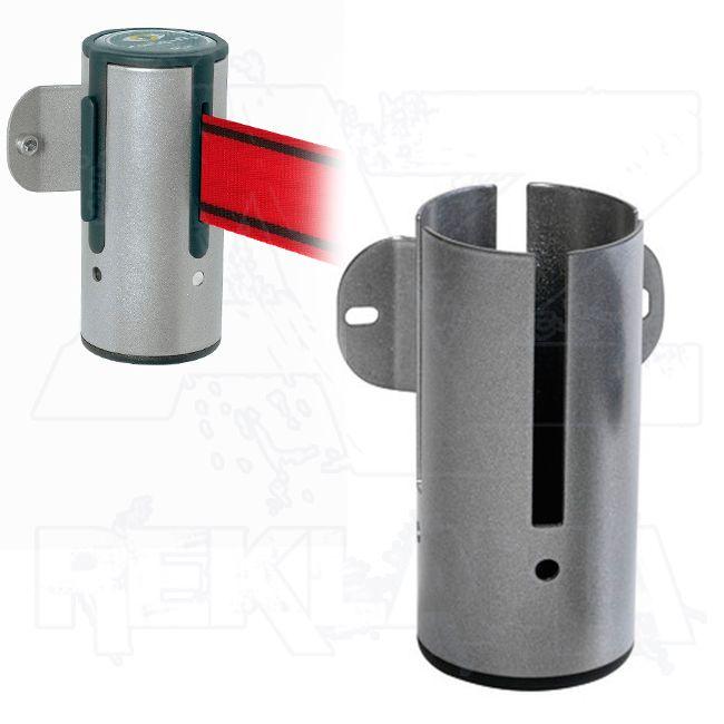 Nástěnný úchyt navíjecího mechanismu - stříbrný