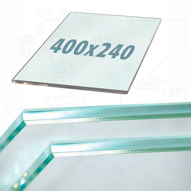 Police z tvrzeného skla do lišt Ripiano 400x240mm