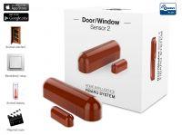 Fibaro senzor na dveře/okna, lanýžový