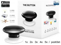 Fibaro Bezdrátové tlačítko, černé