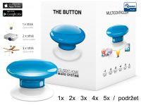 Fibaro Bezdrátové tlačítko, modré