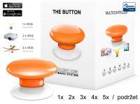 Fibaro Bezdrátové tlačítko, oranžové
