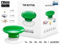 Fibaro Bezdrátové tlačítko, zelené