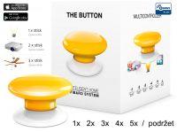Fibaro Bezdrátové tlačítko, žluté