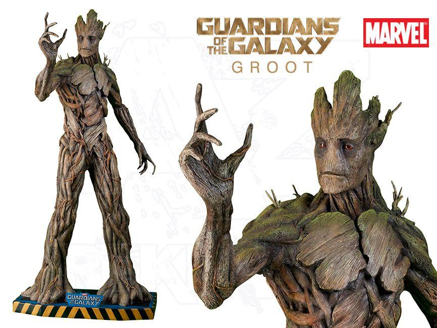 Filmová Figura v životní velikosti - Guardians of the Galaxy - GROOT