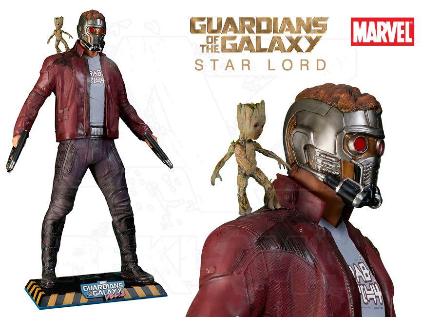 Filmová Figura v životní velikosti - Guardians of the Galaxy 2 - STAR LORD
