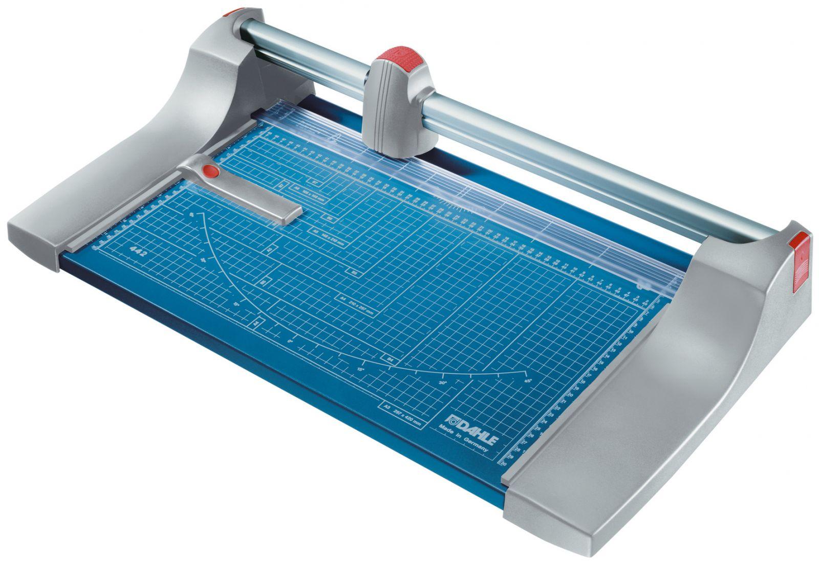 Kotoučová řezačka papíru - DAHLE 442 - délka řezu 510 mm