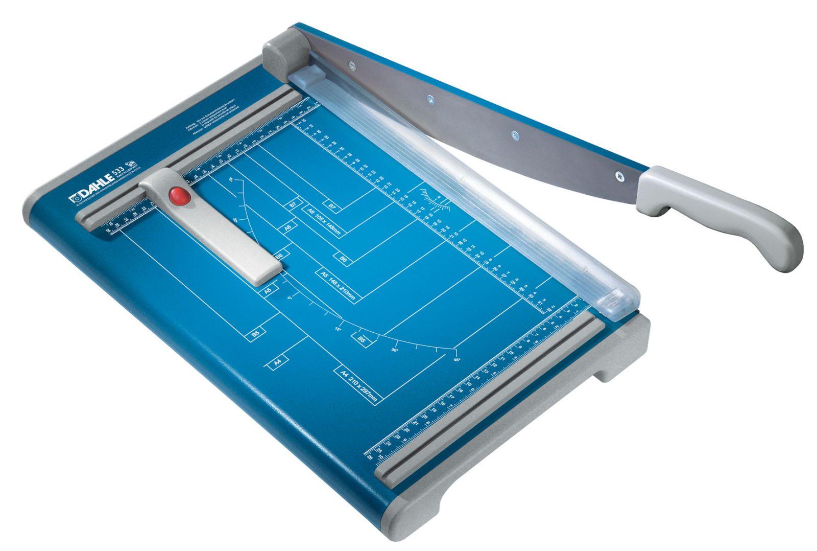 Páková řezačka papíru - DAHLE 533 - délka řezu 340 mm