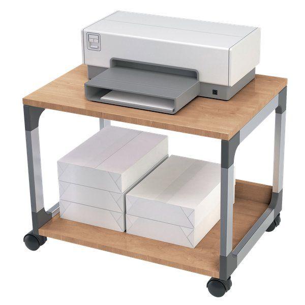 DURABLE 3710124 - Pojízdný stolek MULTI TROLLEY 48 - Stříbrná/Buk