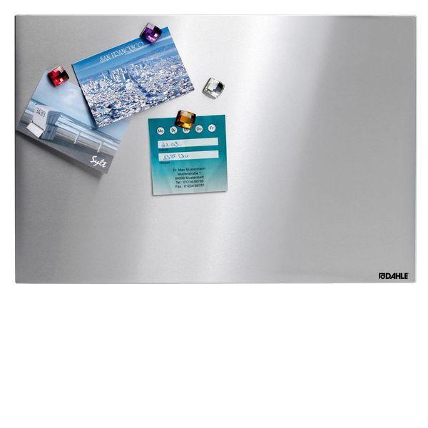 Nerezová tabule 40x60 cm, vč. 4 dekorativních magnetů