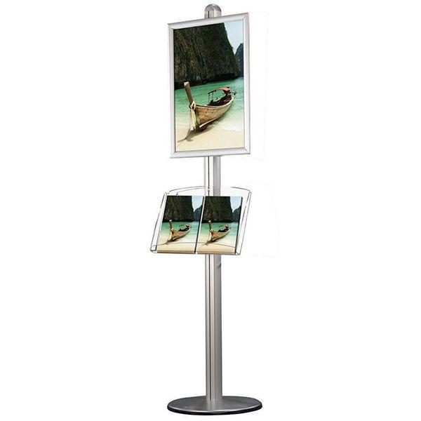 Stojan Freestand - Rám A1 a akrylová kapsa na letáky 2xA4 A-Z Reklama CZ