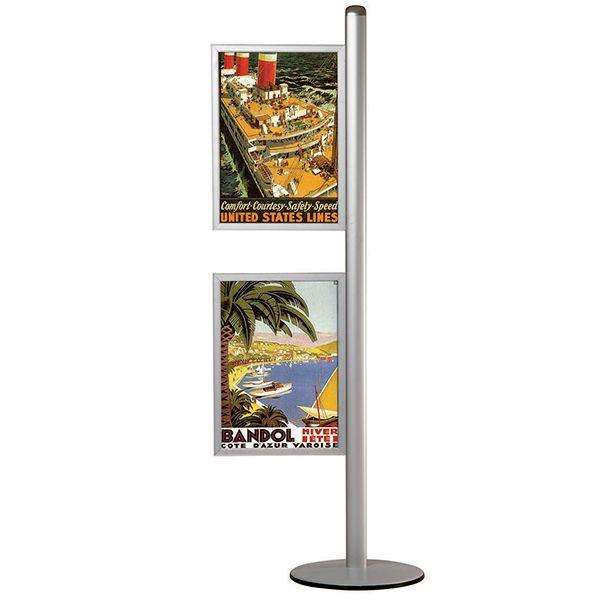 Stojan Freestand - s dvěma Slide-in rámy na A2