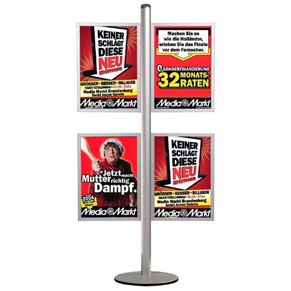 Stojan Freestand - se čtyřmi Slide-in rámy na A2