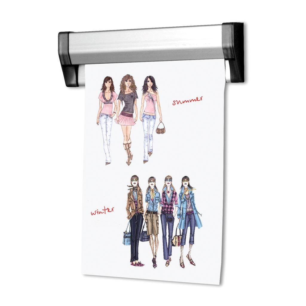 Prezentační Memo lišta na stěnu Fast Note 310 mm