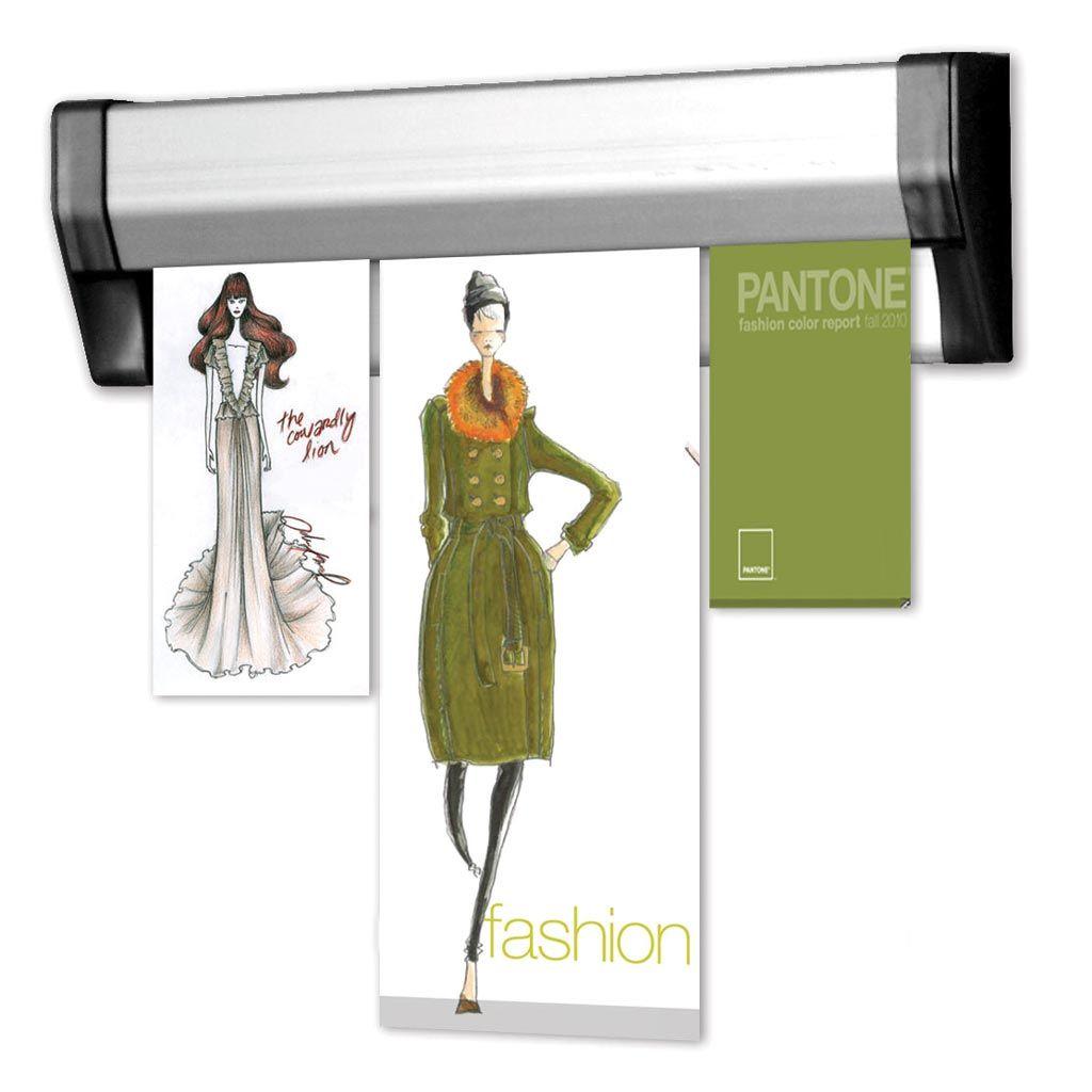 Prezentační Memo lišta na stěnu Fast Note 500 mm