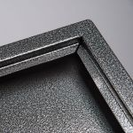 Restaurant Menuboard vitrínka 3x A4 - tepaná černá A-Z Reklama CZ