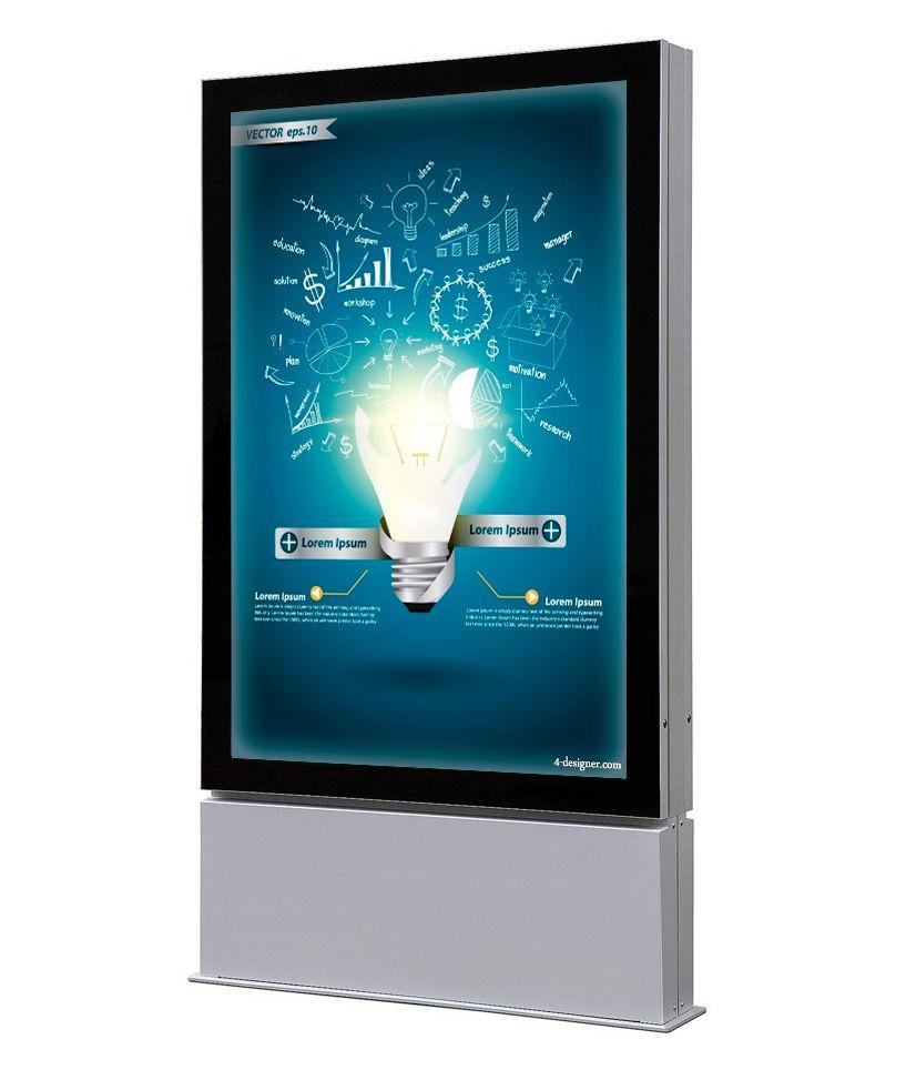 Venkovní obustranný LED totem na plakát 1016x1524mm A-Z Reklama CZ