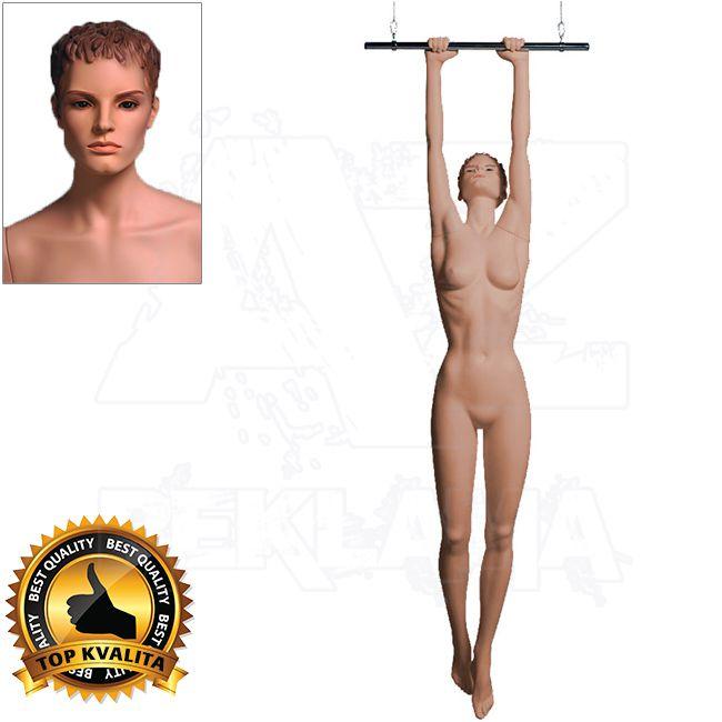 Dámská figurína Sport Akrobatka s prolisovanými vlasy - Tělová A-Z Reklama CZ