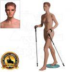 Dámská figurína Sport Chodkyně - Tělová