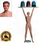 Dámská figurína Sport Zvedající - Tělová