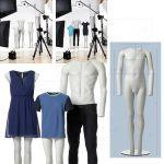 Dětská figurína pro fotografování oblečení do katalogů A-Z Reklama CZ