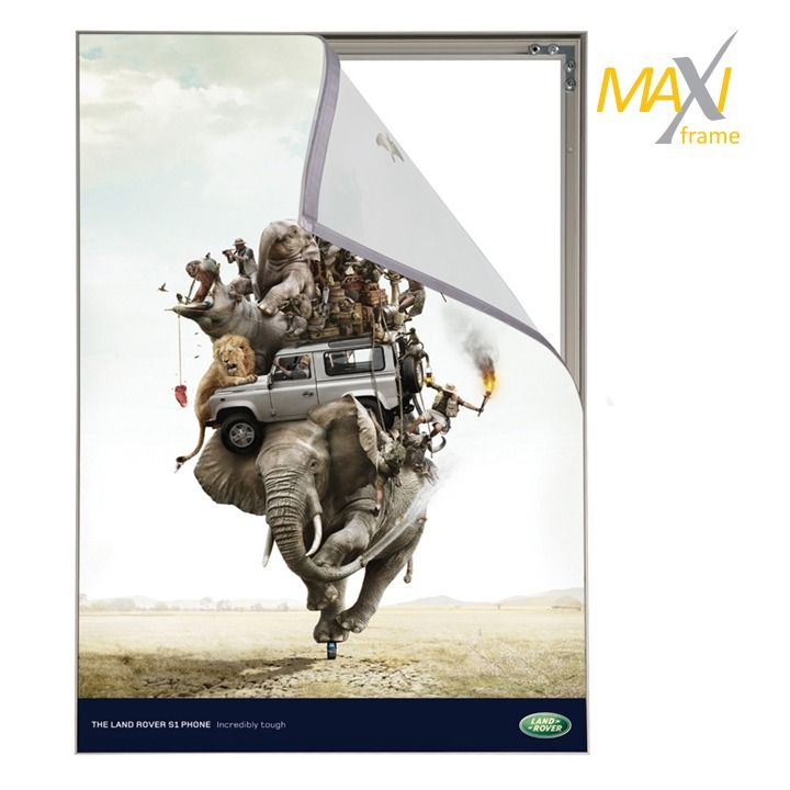 Napínací textilní nástěnný rám A4 profil 15 mm A-Z Reklama CZ